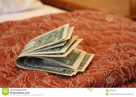 money on the bed money on hotel bed royalty free stock image image 20290436