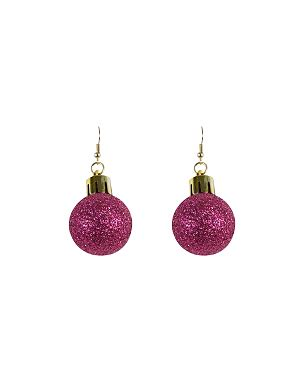 asda christmas baubles bauble drop earrings george at asda