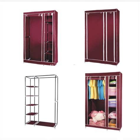 Canvas Wardrobe Closet by Cloth Storage Canvas Wardrobe Closet In Pakistan Hitshop