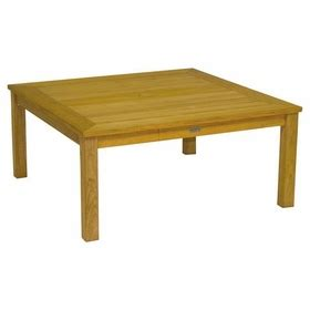 42 Square Coffee Table Three Birds Newport Teak Square Coffee Table 42