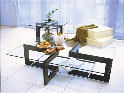 Glass Table For Living Room Glass Center Table Living Room Peenmedia
