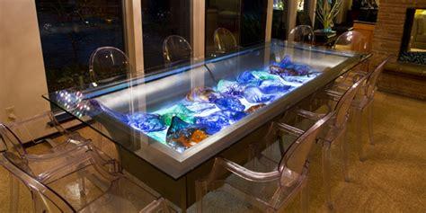 Aquarium Dining Table Vetro Glassblowing 187 Gappa Presents Elysium