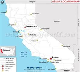 where is azusa california