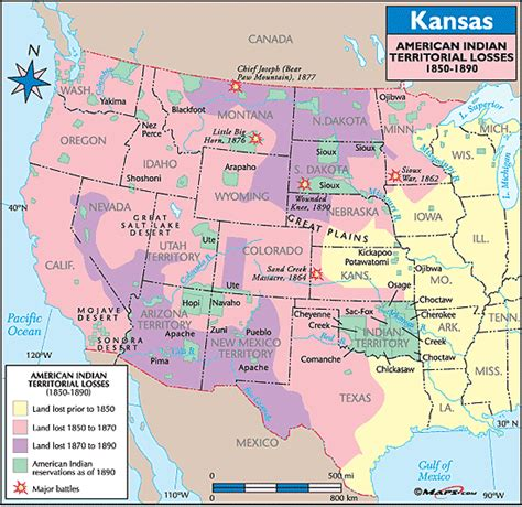 territory in america map indian territory