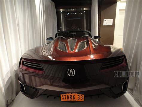 scooped tony starks  million acura supercar