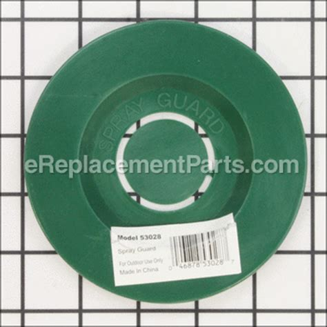 Tool Guard Spray Part Number 302351 5 quot plastic sprinkler spray guard 53028 for orbit lawn