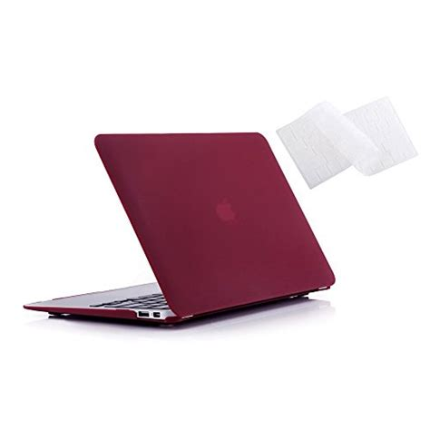 Macbook Air 13 Matte Wine No Logo ruban air 13 inch gold rubberized back with keyboard cover for macbook air 13 3