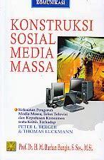 Buku Metodologi Penelitian Kualitatif Burhan Bungin toko buku rahma konstruksi sosial media massa