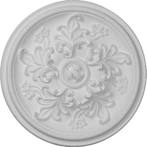 ekena millwork 14 1 2 in katheryn ceiling medallion