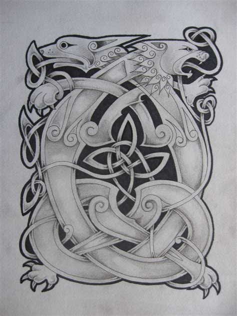 celtic lion tattoo designs and pictures to pin on
