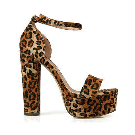 leopard high heel kerry 01 fahrenheit leopard high heel sandals shoes