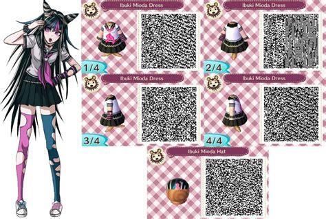 design clothes new leaf acnl ibuki mioda outfit qr codes request by acnl qr