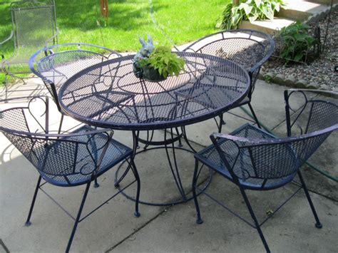 Wrought Iron Patio Table Furniture Home Design By Fuller Rod Iron Patio Table