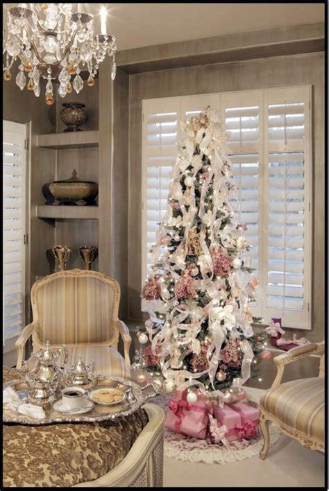 posh christmas tree christmas trees decor pinterest