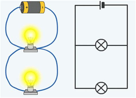 parallel circuit electricity quia science magnets and electricity