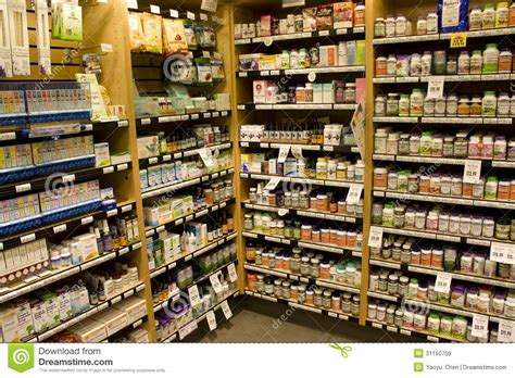 popular grocery stores nutrition supplement store editorial stock image image