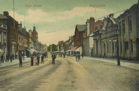 old photos of newmarket in suffolk in england united