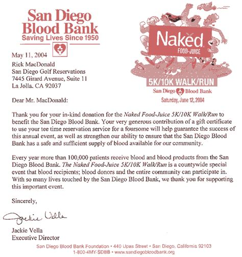 Thank You Note For Blood Donation San Diego Golf San Diego Golf Charity Golf Tournaments Charity Events In San Diego