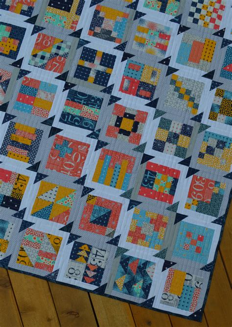 Simple Modern Quilt by Summer Blockbuster Quilt Along A Simple Sler Color Quilts By Mcconnell