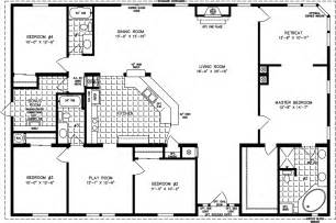 2000 Square Foot Floor Plans by 2000 Sq Ft And Up Manufactured Home Floor Plans