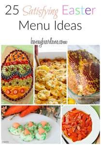 25 satisfying easter menu ideas honeybear lane