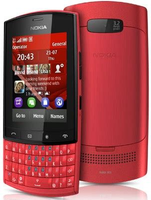 Hp Nokia Asha 303 nokia asha 303 phone photo gallery official photos