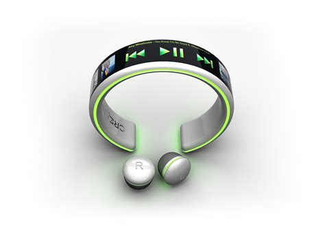MP3 Player Creative Bracelet by Dinard Da Mata is Powered by Your Pulse   Wearable Tech   CrunchWear