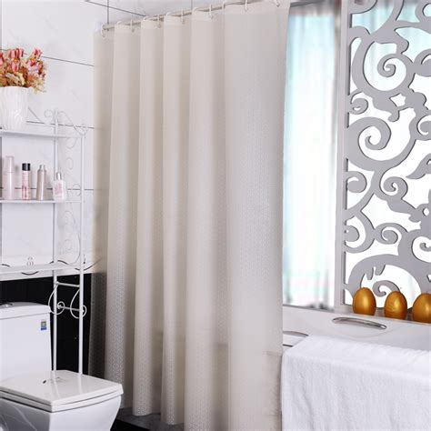 Simple Shower Curtains 2015 Simple Beige Geometric Patterns Shower Curtain Waterproof Mouldproof Bathroom Curtains With