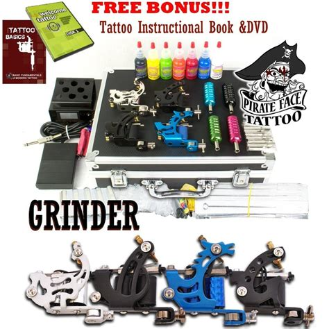 tattoo equipment and tattoo supplies cheap kits recommendation grinder kit review