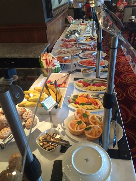 Restaurant Bar Lounge Food On Norwegian Ncl Pride Of America Breakfast Buffet