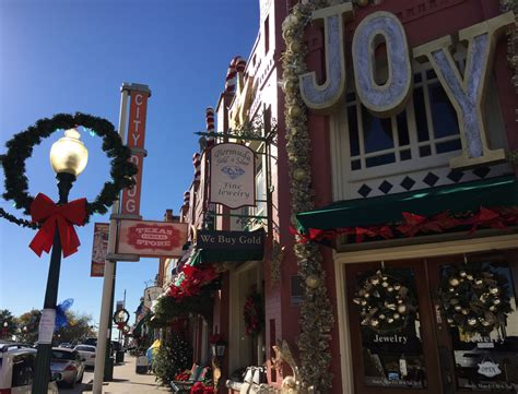 a visit to grapevine the christmas capital of texas r we there yet mom