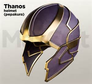 black hat review template thanos helmet pepakura foam and paper unfold
