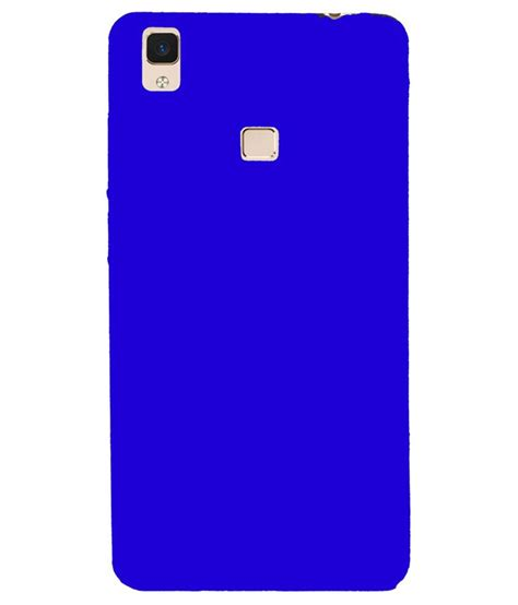 Antigores Clear Vivo V3 Max johra back cover for vivo v3 max blue plain back