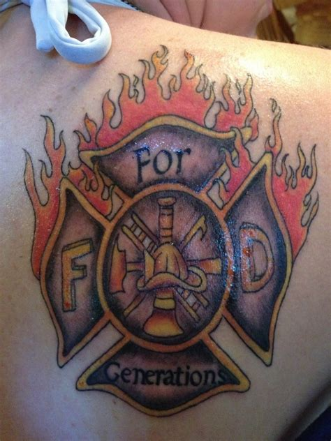 firefighter tattoos firefighter tattoos designs ideas and meaning tattoos