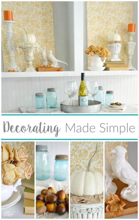 cheap and easy empty space decorating filler fox hollow