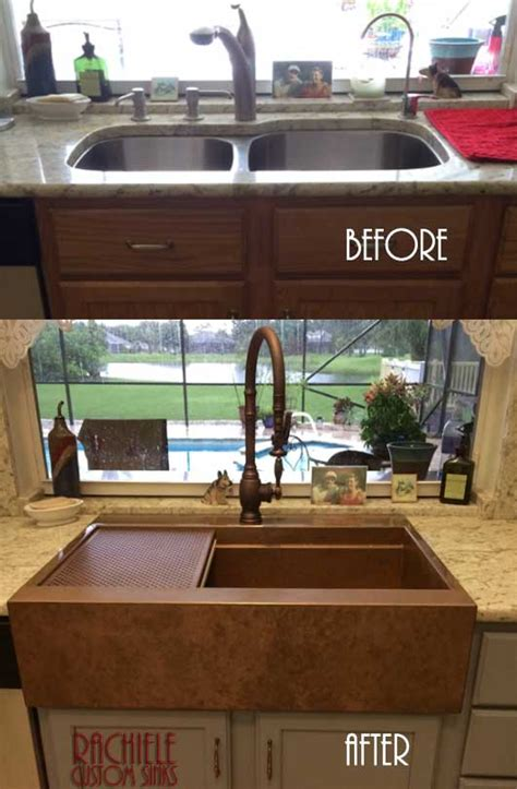 installing farmhouse sink in existing cabinets farmhouse sink installation in existing cabinet