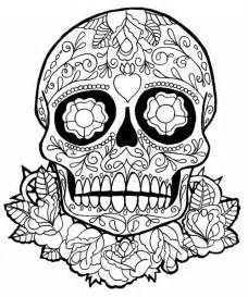 dia de los muertos skull coloring pages sugar skull coloring page az coloring pages