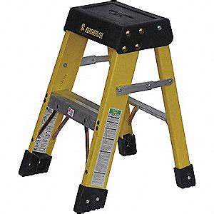 Ansi Approved Step Stools by Featherlite Ladder Fiberglass Step 2ft Type1a Step