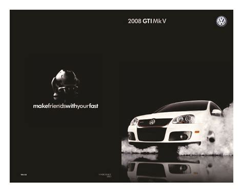 free car repair manuals 2008 volkswagen gti electronic throttle control 2008 volkswagen gti vw catalog