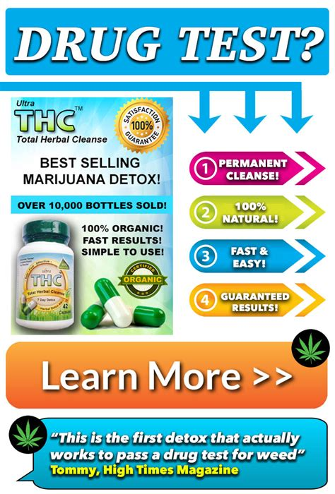 Detox To Pass Test by Ultra Thc Detox Pills For Detox Pills Pass A