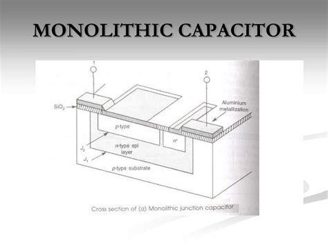 monolithic resistors and capacitors 28 images ppt integrated circuits powerpoint