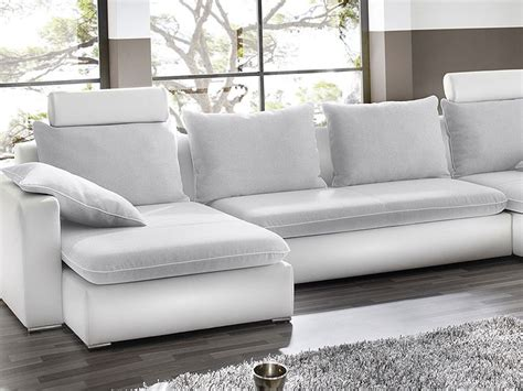 sofa orlando wohnlandschaft orlando 385x208 160cm hellgrau wei 223 sofa