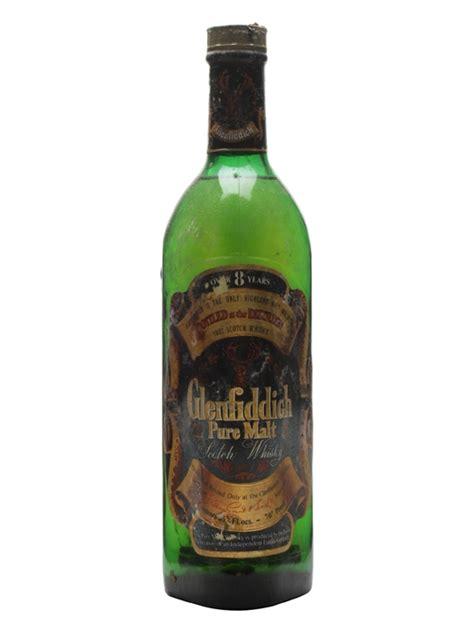 glenfiddich 8 year bot 1970s scotch whisky the