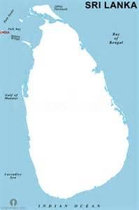Blank Sri Lanka Map by Sri Lanka Map Outline Ronieronggo
