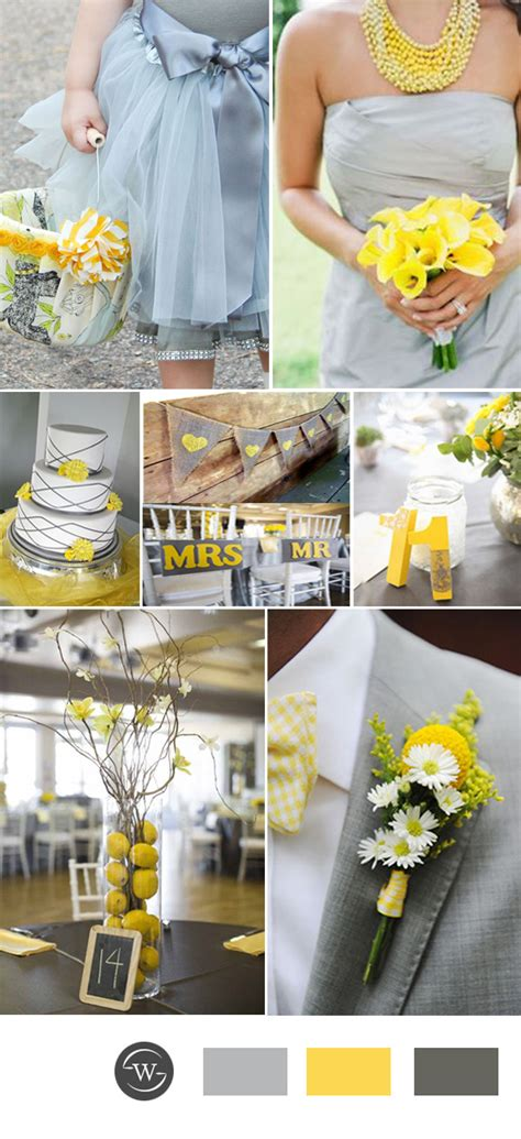 top 10 grey wedding color combination ideas for 2017 trends stylish wedd