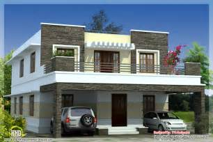 3 bedroom modern flat roof house kerala home design and