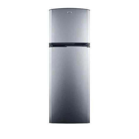 best cabinet depth refrigerator summit appliance 8 8 cu ft top freezer refrigerator in