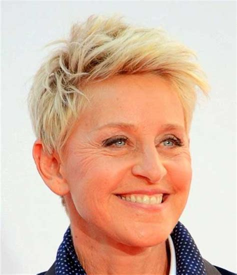 Degeneres Hairstyle by How To Cut Degeneres Hair Degeneres Many Hair