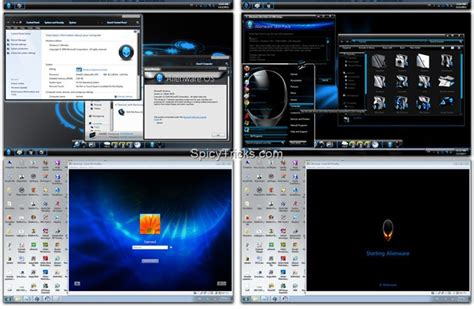 download theme windows 7 gamer awesome alienware skin pack for windows 7 windows7 gaming