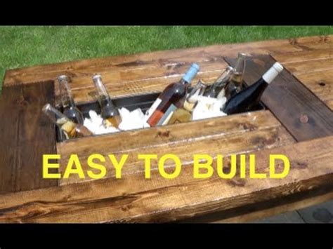rolling cooler with built in picnic table best 25 picnic table cooler ideas on outdoor